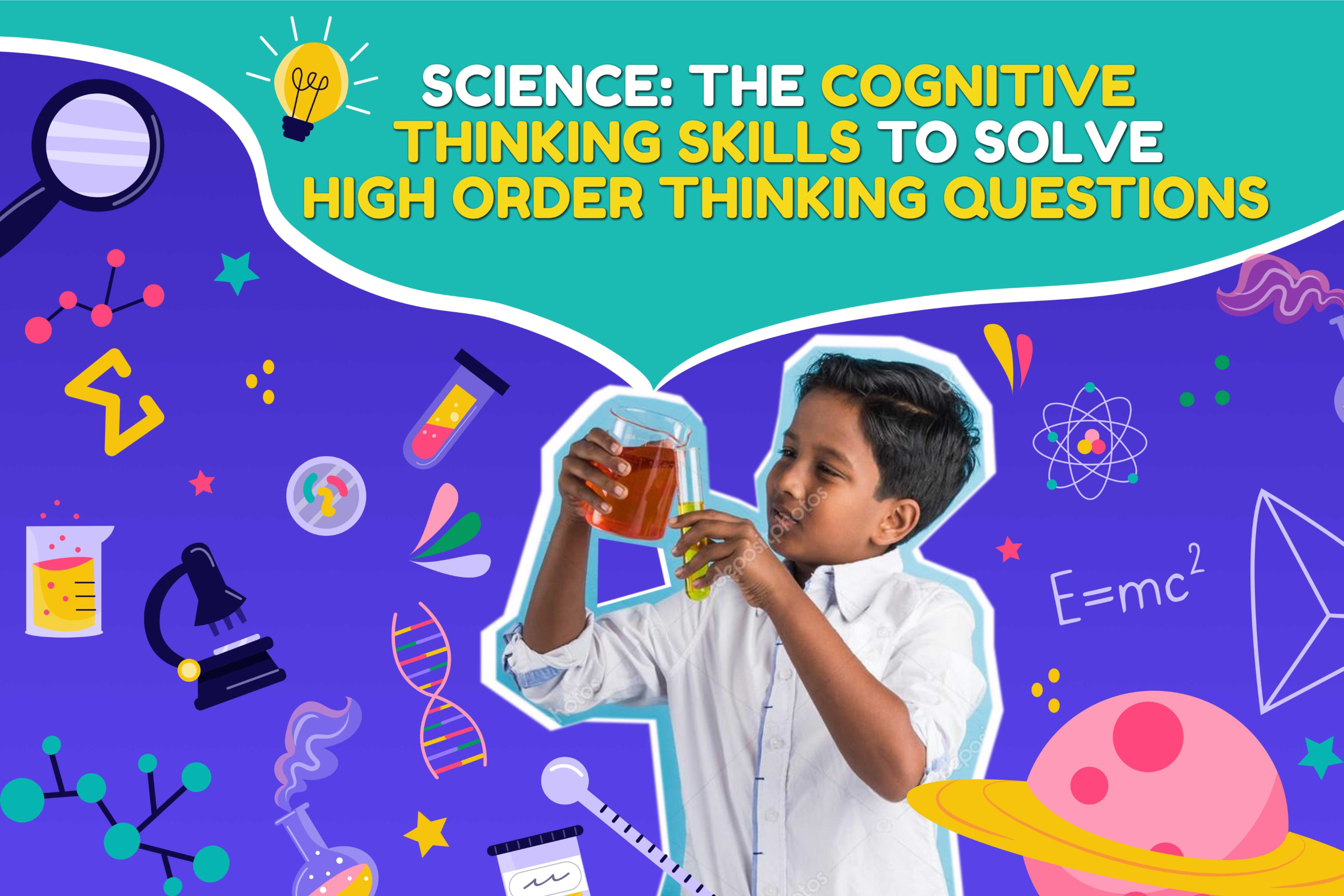 (P5, P6 in 2021) Science Cognitive Thinking Skills to Solve Higher Order Thinking Questions
